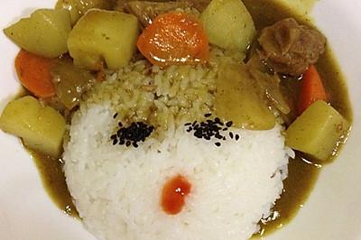 简单好吃咖喱牛肉饭