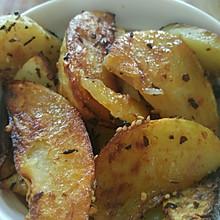 烤箱版烤土豆