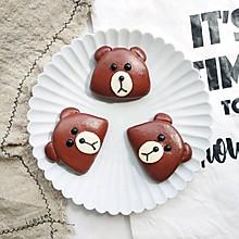 ️布朗熊馒头饼夹