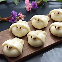 苹果果做的动物造型_可爱动物造型馒头怎么做_可爱动物造型馒头的做法_豆果美食