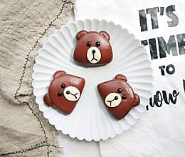 ️布朗熊馒头饼夹的做法