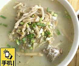 折耳根绿豆排骨汤的做法