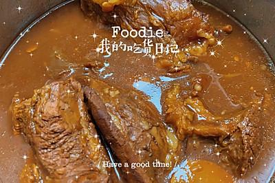 簡單易做—醬牛肉(內附簡單的牛肉面)