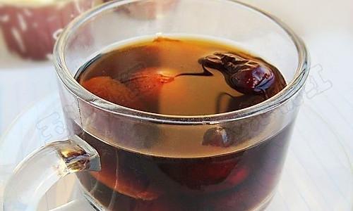 红枣姜片茶的做法