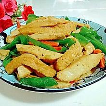 青椒炒素鸡#春天不减肥,夏天肉堆堆#