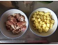 烤奥尔良鸡腿肉土豆 的做法图解1