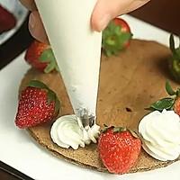可可草莓裸蛋糕【微体兔菜谱】的做法图解12