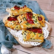 #换着花样吃早餐#多变手抓饼之葱香芝士风味