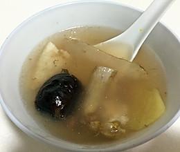 花胶螺肉红枣汤的做法