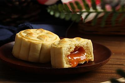 中秋新品~奶黄流心月饼