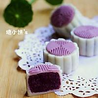 【紫薯冰皮月饼】的做法图解14