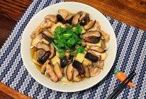 花菇红枣蒸鸡的做法