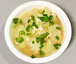 【孕妇食谱】冬瓜虾皮汤,补钙又利尿,怎一个鲜美了得!的做法