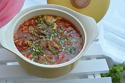 番茄牛肉煲