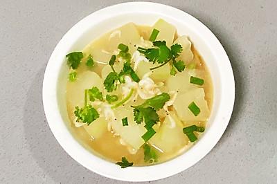 【孕妇食谱】冬瓜虾皮汤,补钙又利尿,怎一个鲜美了得!