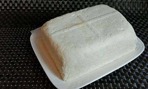 自制豆腐(白醋点豆腐)的做法