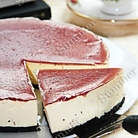 蓝莓芝士蛋糕(不用烤箱版)的做法图解11