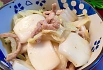 白菜肉丝炒年糕—不一样的私房菜的做法