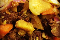 土豆萝卜烧牛腩的做法
