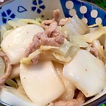 白菜肉丝炒年糕—不一样的私房菜
