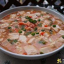田园虾仁豆腐羹