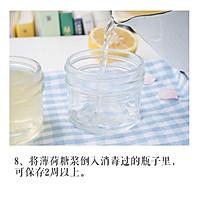 清新薄荷糖浆的做法图解8
