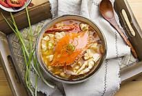 蟹味疙瘩汤的做法