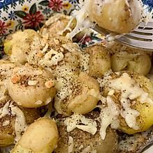 椒盐芝士烤土豆