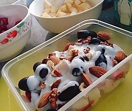 #换着花样吃早餐#减肥早餐水果捞的做法