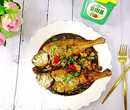 #一勺葱伴侣,成就招牌美味#巨好吃超简单的美味酱焖黄鱼的做法