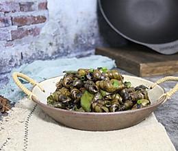 #秋天怎么吃#豆豉炒钉螺的做法