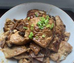 这样吃豆腐,简单操作:红烧豆腐的做法