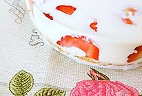 免烤草莓冻奶油芝士蛋糕的做法