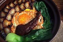 黑胡椒腊肉煲仔饭的做法