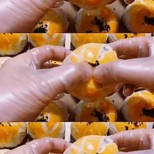 麻薯肉松红豆沙蛋黄酥(半圆吸塑盒大小)