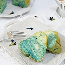 蓝色天空大理石戚风蛋糕#美的FUN烤箱·焙有FUN儿#