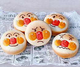 面包超人日式红豆面包的做法