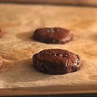 #带着美食去踏青#淡奶油巧克力软曲奇的做法图解4