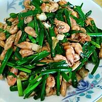 河虾炒韭菜的做法图解9