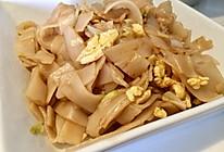 简单的素炒宽米粉的做法