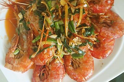 新年大餐之油焖大虾