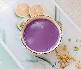 #一道菜表白豆果美食#补脾健胃紫薯山药豆浆的做法