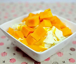 芒果绵绵冰的做法