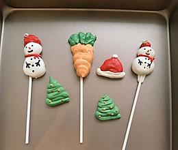 """#甜蜜暖冬,""""焙""""感幸福#圣诞蛋白糖的做法"""