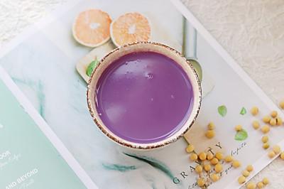 补脾健胃紫薯山药豆浆
