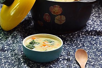 小米汁蔬菜浓汤
