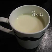 【抹茶豆乳布丁】免烤、低热量、快手的做法图解2