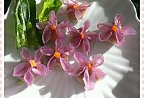 花式水晶蒸饺(紫色时光)的做法