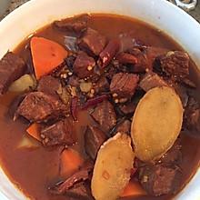 红烧土豆牛肉(无高压锅)