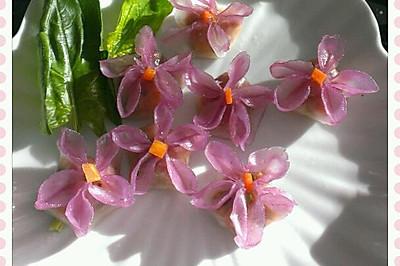 花式水晶蒸饺(紫色时光)